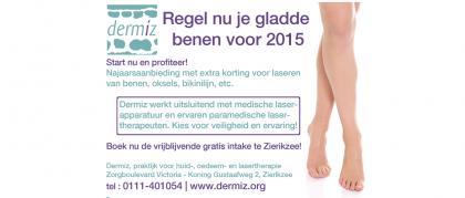 Regel nu je gladde benen voor 2015!