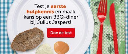 Doe de BBQ test!